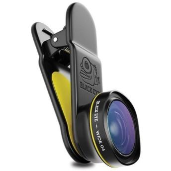 BLACK EYE(ブラックアイ) スマホ用クリップ式レンズ 160度広角レンズ WIDE G4 G4WA001