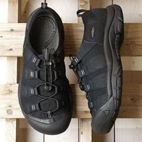 送料無料 キーン KEEN メンズ リヴァーポート MEN RIVERPORT ウォーターシューズ サンダル 靴 Black/Black 0c61d7327