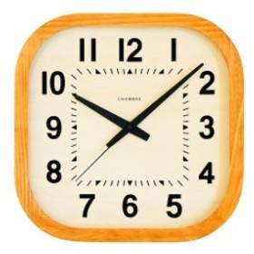 シャンブル掛け時計 KADOMARU  CLOCK 掛け時計  CHAMBRE  CH-032CB ナチュラル