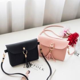 ショルダーバッグ ミニショルダー ポシェット タッセル ミニバッグ コンパクト バッグ 鞄 かばん カバン