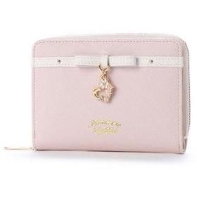 プリムヴェールリズリサ Primevere LIZ LISA バニラ スウィングチャーム付二つ折り財布 (ピンク)
