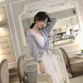 レディース ブラウス シャツ トップス Vネック 2018秋 新品 韓国ファッション ゆったり感 トレンド 人気 上質 728