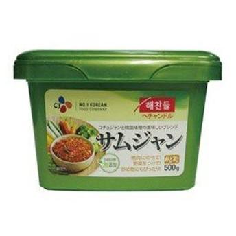 ヘチャンドル サムジャン(焼肉用味噌) 500g / 韓国調味料 / 韓国焼肉味噌
