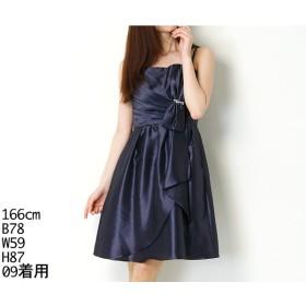 [マルイ]【セール】ドレス( ビジュー調付 ライトシャンタンドレス)/ラディファンス(La Defence)