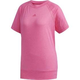 adidas women's W M4T イメージTシャツ ランニング・トレーニングウェア,リアルマゼンタ