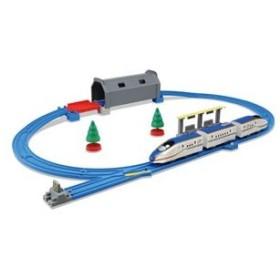 タカラトミー プラレール トンネルを照らそう! ライト付 E7系 新幹線 かがやきベーシックセット 返品種別B
