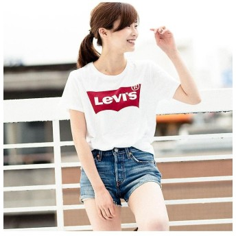 リーバイス バットウィングロゴTシャツ(レディースモデル) レディース NEUTRALS XS- 【Levi's】