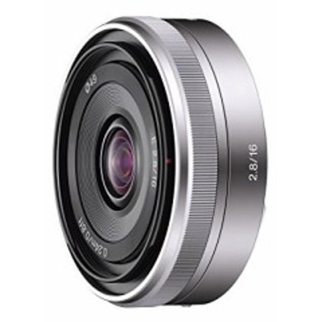 ソニー SONY 単焦点レンズ E 16mm F2.8 ソニー Eマウント用 APS-C専用 SEL1(中古品)
