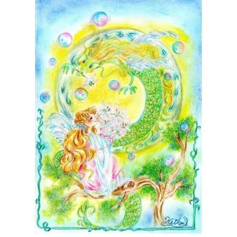 龍と少女の大切な時間