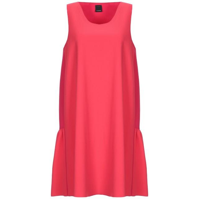 《セール開催中》PINKO レディース ミニワンピース&ドレス レッド 36 ポリエステル 100%