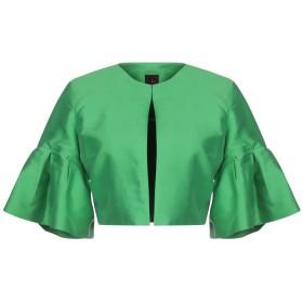 《期間限定 セール開催中》HANITA レディース テーラードジャケット グリーン 40 アセテート 65% / レーヨン 35%