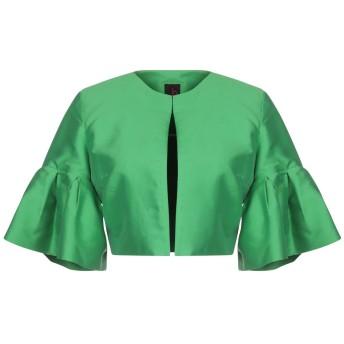 《9/20まで! 限定セール開催中》HANITA レディース テーラードジャケット グリーン 40 アセテート 65% / レーヨン 35%