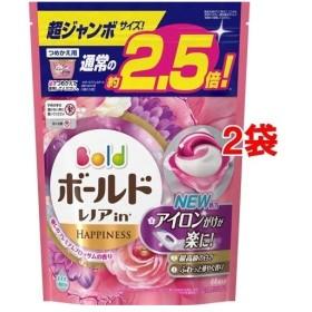 ボールド 洗濯洗剤 ジェルボール3D 癒しのプレミアムブロッサムの香り 詰替超ジャン(44コ入2コセット)