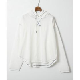 [マルイ]【セール】フーテッド異素材プルオーバー/ダブルネーム(DOUBLE NAME)