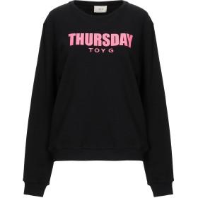 《送料無料》TOY G. レディース スウェットシャツ ブラック XS コットン 60% / ポリエステル 40%