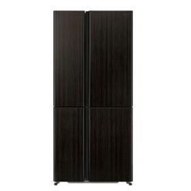 【基本設置料金セット】 AQUA 4ドア512L冷蔵庫 AQR-TZ51H(T) ダークウッドブ 【お届け日時指定不可】