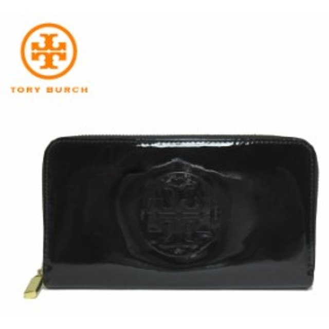 d743a2ef235d トリーバーチ アウトレット TORY BURCH 財布 18169285-0718-001 パテント レザー STACKED PATENT ZIP  CONTINENTAL