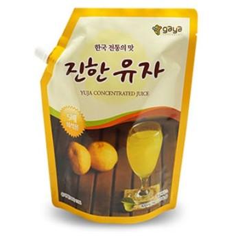 『ガヤFD』ゆずエキス(1kg・5倍濃縮タイプ)原液 伝統茶 伝統飲料 韓国飲み物 韓国飲料 韓国ドリンク 韓国食材 韓国食品