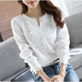 シフォン ロングシャツ 白シャツ ホワイト 長袖シャツ 半袖ブラウス 無地 シャツワンピース 白 レディース 大きいサイズシャツ a55