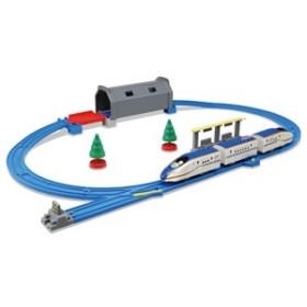 タカラトミー プラレール トンネルを照らそう!  ライト付 E7系 新幹線 かがやきベーシックセット 【返品種別B】