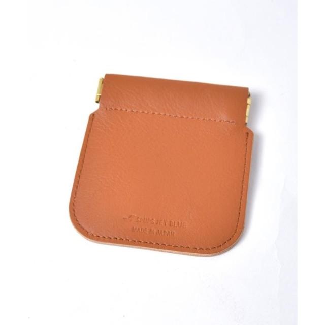 24ec6242e38f シップス SHIPS JET BLUE: コインケース made in JAPAN メンズ キャメル ONESIZE 【SHIPS】