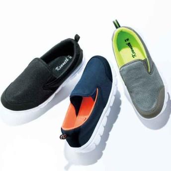 【格安-男性靴】(エアロップ)メンズ軽量スリッポンタイプカジュアルスニーカー