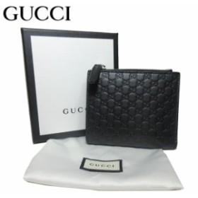 626fb2aab59e グッチ アウトレット GUCCI 544475 レザー マイクロGG 二つ折り財布(小銭入れ有り) ブラック