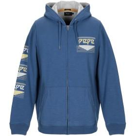 《期間限定 セール開催中》PEPE JEANS メンズ スウェットシャツ ブルー XS コットン 100%