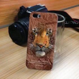 iPhone 5S/5 iPhone SE アニマルフェイス トラ 虎 タイガー ハードケース PC素材 おしゃれ かわいい かっこいい カバー