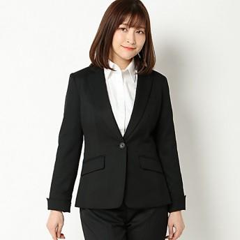 【文化服装学院監修】セットアップテーラージャケット(レディース) ブラック