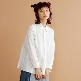 [マルイ]【セール】【plus】Aライン切替フレアシャツ/メルロープラス(merlotPLUS)