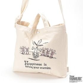 [マルイ] SN.ト-ル2wayシシュウPEANUTS4H Happiness/ルートート(ROOTOTE)