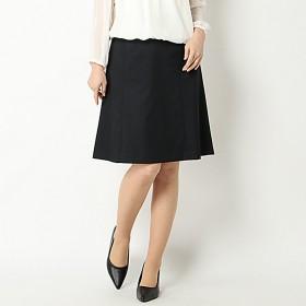 【文化服装学院監修】セットアップフレアスカート(レディース) ネイビー