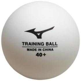 MIZUNO SHOP [ミズノ公式オンラインショップ] トレーニングボール40+/100球入(卓球) 01 ホワイト 83GBH900