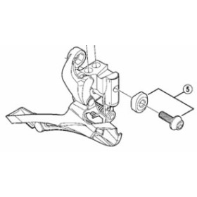 [5]直付式用 取付ボルト(M5×15.2)& 取付座金