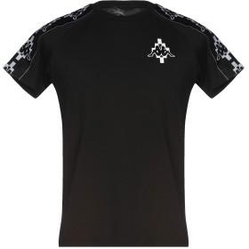 《セール開催中》MARCELO BURLON x KAPPA メンズ T シャツ ブラック XXS コットン 100% / ポリエステル