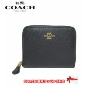 コーチ アウトレット COACH 財布 F24808 ペブルドレザー スモール ジップ アラウンド ウォレット / 財布 IMBLK(ブラック)【レディース】