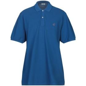 《期間限定 セール開催中》NEW ENGLAND メンズ ポロシャツ ブライトブルー S コットン 100%