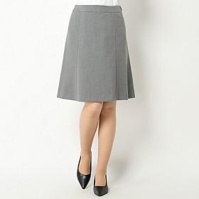 【文化服装学院監修】セットアップフレアスカート(レディース) ライトグレー