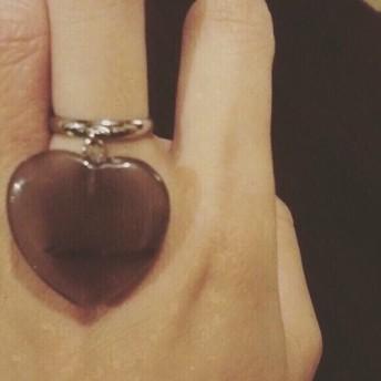 Big Love ring (gray)