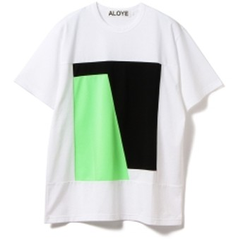 ALOYE BEAMS T 別注 Color Block Tee 19SS メンズ AY05637