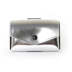 com-ono / レザー ミニ ウォレット(BEAMS Planets) メンズ 財布 シルバー ONE SIZE