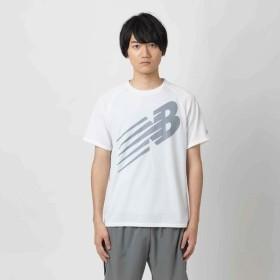 [マルイ]【セール】ランニング アクセレレイトJETNBグラフィックショートスリーブTシャツ/ニューバランス(スポーツオーソリティ)(newbalance)