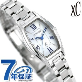 シチズン クロスシー エコドライブ トノー レディース 腕時計 EW5540-52A CITIZEN xC シルバー×シルバー