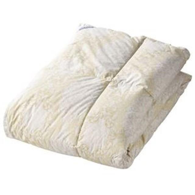 送料無料 羽毛合い掛けふとん K91212820 生活用品・インテリア・雑貨:寝具:布団セット
