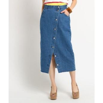AG by aquagirl / エージー バイ アクアガール 【コラボアイテム】Lee (リー) ボタンタイトスカート