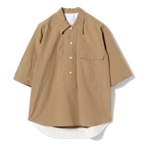 BAGUTTA / 3/4スリーブ プルオーバーシャツ レディース カジュアルシャツ BROWN 38