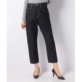 マーコート high waist denim パンツ レディース NAVY 2 【MARcourt】