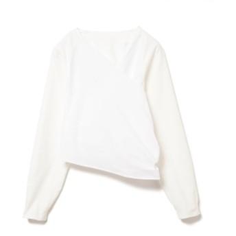RBS / バックリボン カシュクール レディース カジュアルシャツ WHITE ONE SIZE