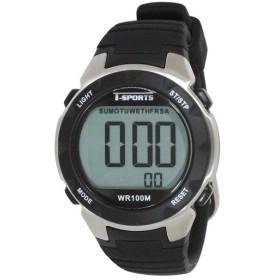T-sports デジタル 腕時計 TS-D060-BK